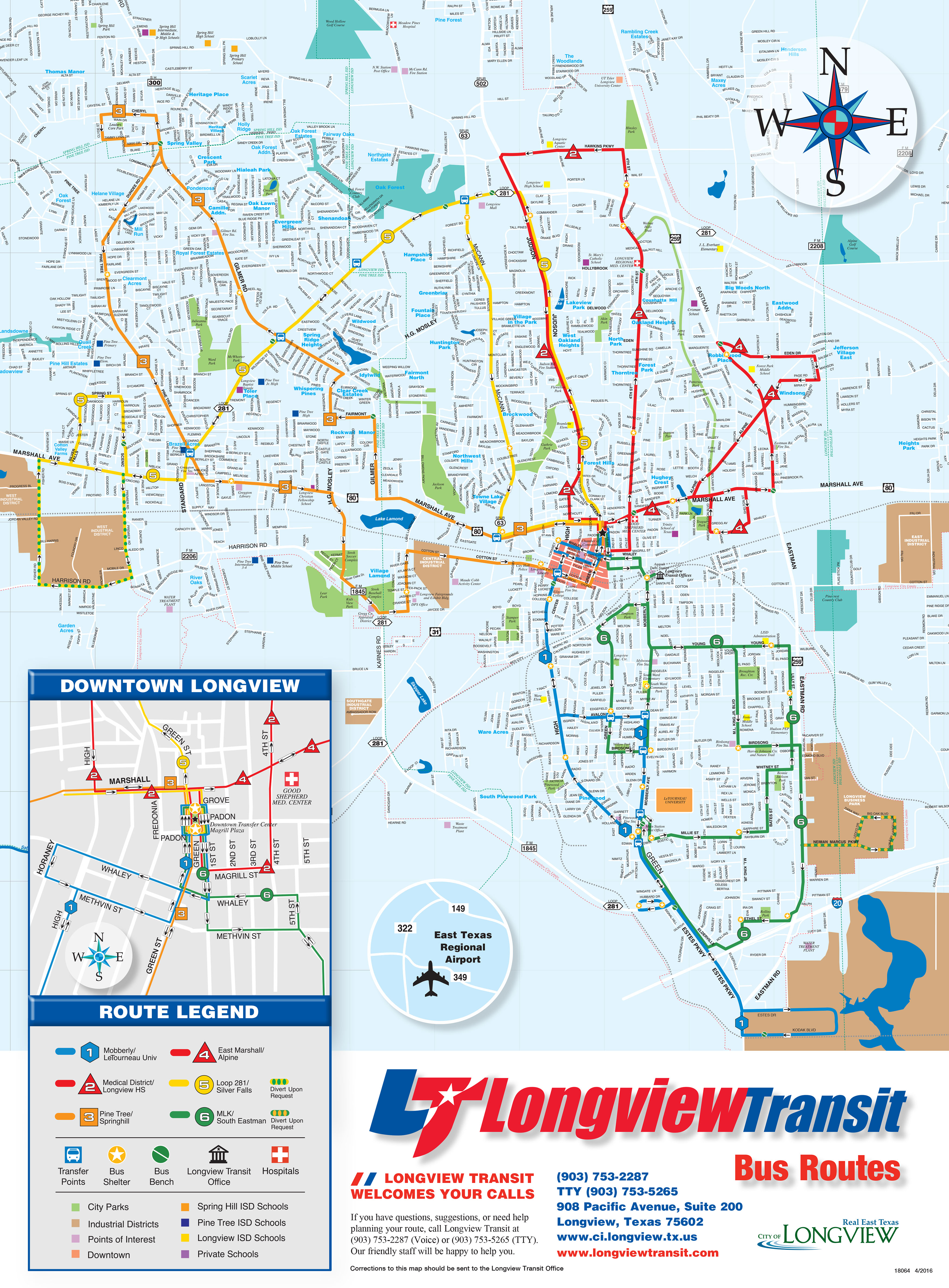 Marshall Tx Zip Code Map.Longview Transit Fixed Routs Maps